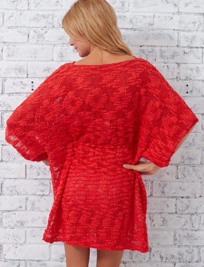 Knit Beach Cover Up Pattern : Patons Beach Cover-Up, Knit Pattern Yarnspirations