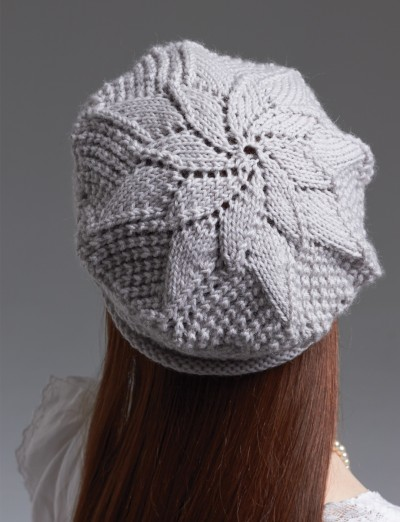 Knitting Patterns Using Patons Lace Yarn : Patons Lace Beret, Knit Pattern Yarnspirations