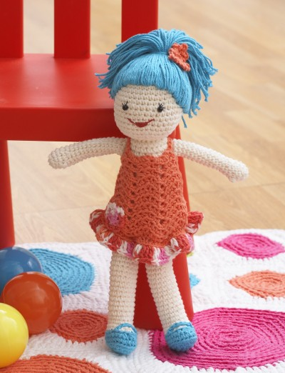 Free Crochet Patterns For Sugar And Cream Yarn : Lily Lily Doll, Crochet Pattern Yarnspirations