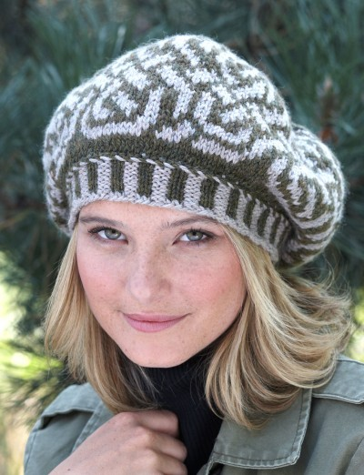 Patons Celtic Fair Isle Beret, Knit Pattern | Yarnspirations