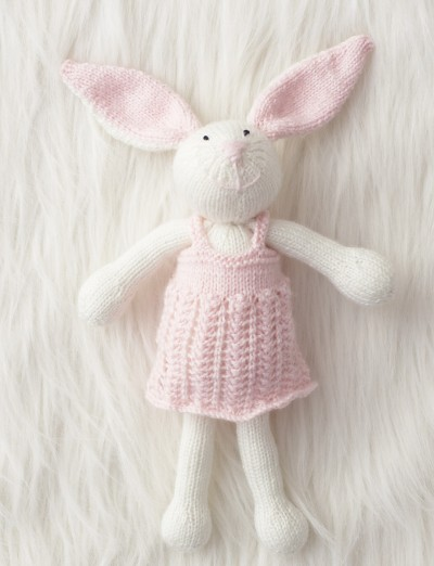 Knitted Bunnies Free Pattern : Patons Zoe Bunny, Knit Pattern Yarnspirations