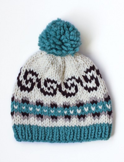 Fair Isle Knitting Kits Canada : Patons cap it off knit pattern yarnspirations