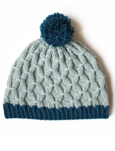 Patons Free Knitting Patterns : Patons Rock the Smock Hat, Knit Pattern Yarnspirations
