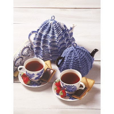 Easy Knitting Pattern For Tea Cosy : Tea Cosy - Patterns Yarnspirations