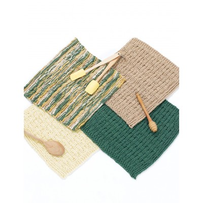 Basketweave Dish Cloth