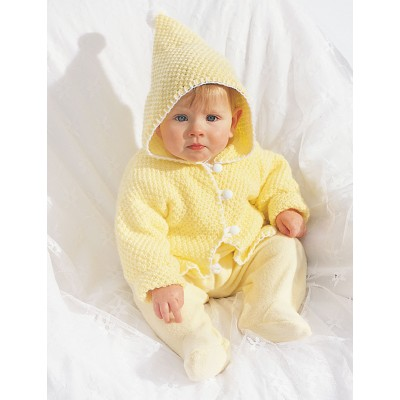 Hooded Baby Jacket
