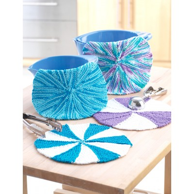 Beach Ball Dishcloths