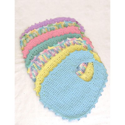 Handicrafter Cotton - Bibs & Booties (crochet)