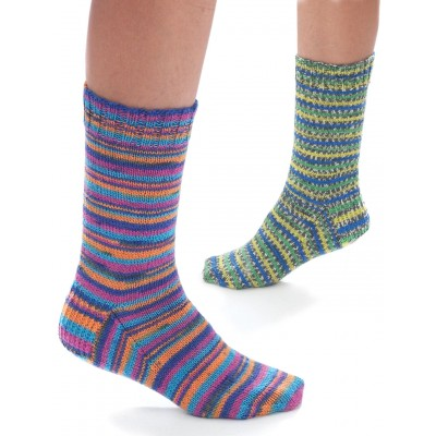 Jacquard & Stripe Socks