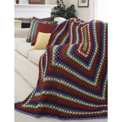 Decor - Stained Glass Window Afghan (crochet)