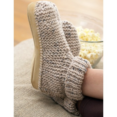 Cuffed Boot Slipper