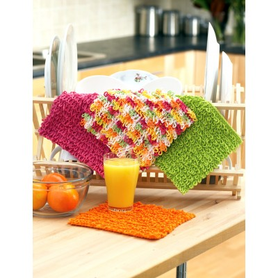 Loopy Dishcloth