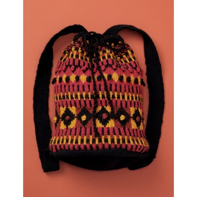Unfelted Tribal Duffle
