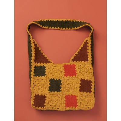 Felted & Crochet Patchwork Bag