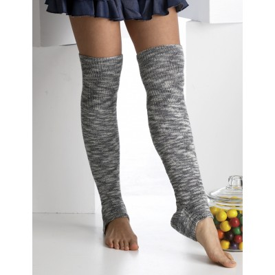 Footless Thigh-high Socks