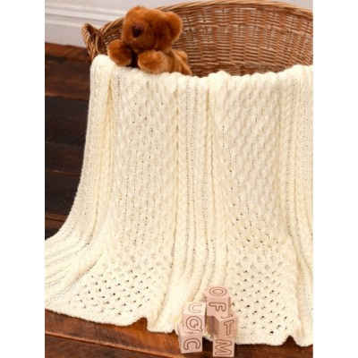 Irish Eyes Baby Blanket