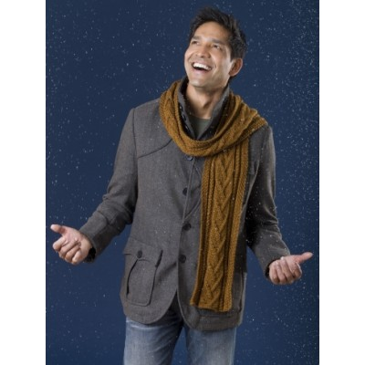 Combo Cable Scarf