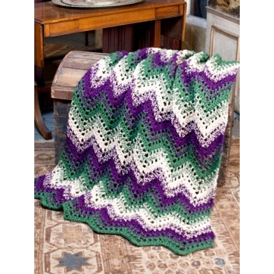 Woodland Waves Throw