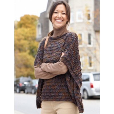 Easy-Wearing Knit Wrap
