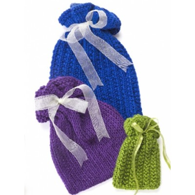 Knit Gift Bags