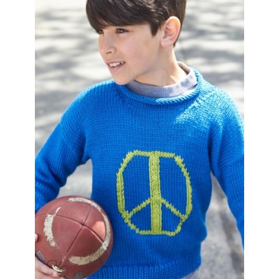 Peaceful Kiddo Pullover