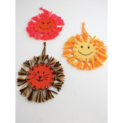 Kids' Craft - Sunshine Wall Hanging