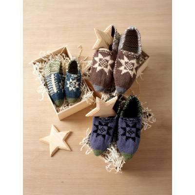 Fair Isle Slippers