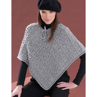 Perfect Patterned Poncho