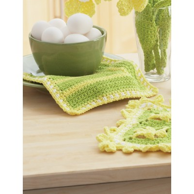 Daffodil Dishcloths