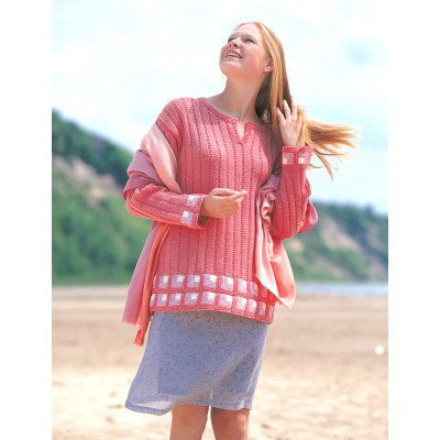 Mitered Squares Tunic