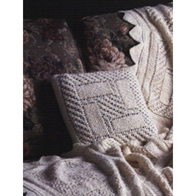 Trellis Squares Pillow