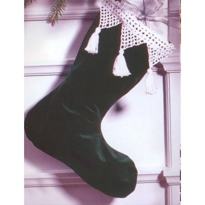 Grace - Lace Stocking Edging (crochet)