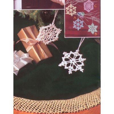 Bells, Flakes, and Tree Skirt Edging