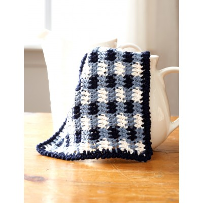 Gingham Dishcloths