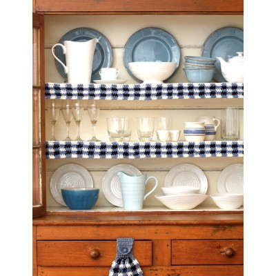 Gingham Shelf Edging