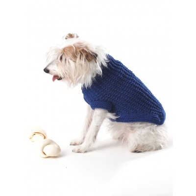 Knit Dog Coat