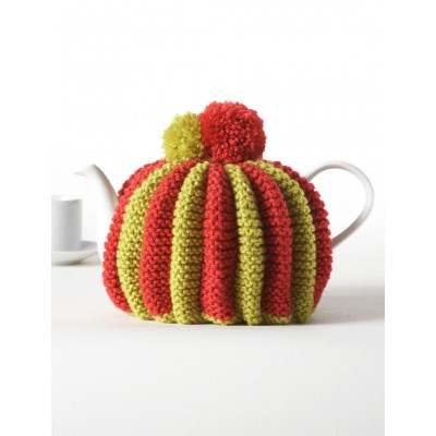 Knitted Pleated Tea Cozy