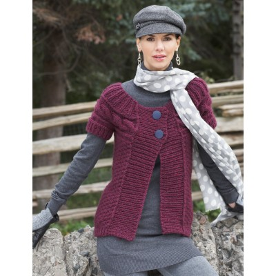 Cable Yoke Sweater