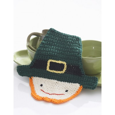 Crochet Leprechaun Dishcloth
