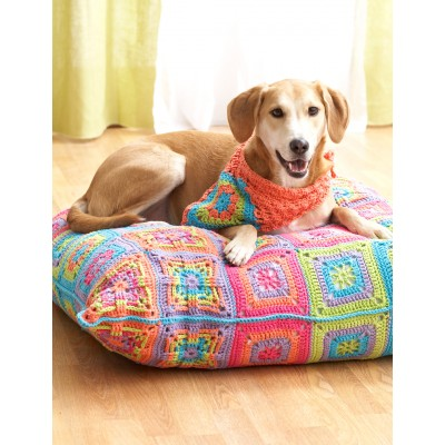Dog Bed and Kerchief