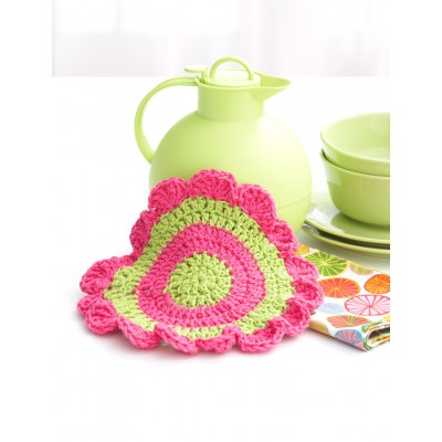 Daisy Wheel Dishcloth