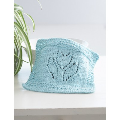 Spring Tulip Dishcloth