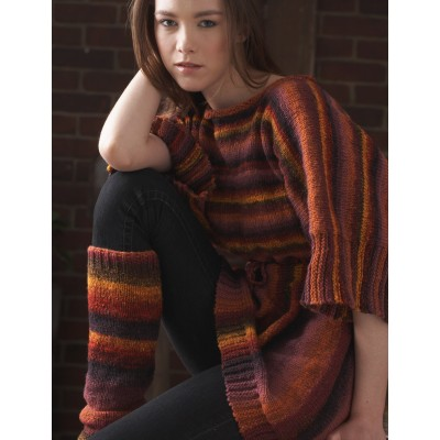 Striped Tunic and Leg Warmers