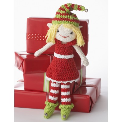 Lily the Christmas Elf Doll