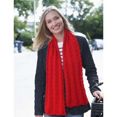 Red Friday Scarf