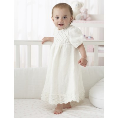 Smocked Bodice Gown