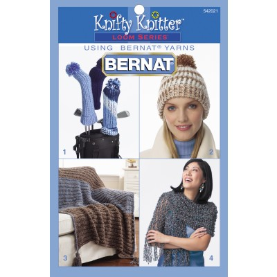 Knifty Knitter Loom Series - Bonus Book