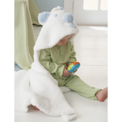Cozy Cub Hooded Blanket