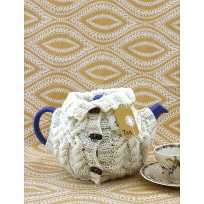 Aran Sweater Tea Cozy