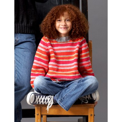 Child: Raglan Crew Neck or V-Neck Pullover